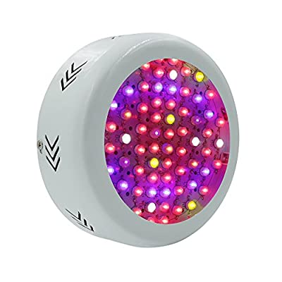 XJLED Led Grow Light Panel Full Spectrum, 277LED, with UV / IR Lamp, 5730SMD, for Indoor Plants Garden Greenhouse Hydroponic Growing