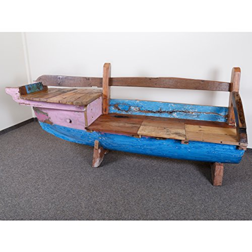 FISHBOAT BOOTSBANK 228 CM (BUG LINKS) MIT ABLAGEFÄCHERN - SERIE JAVA