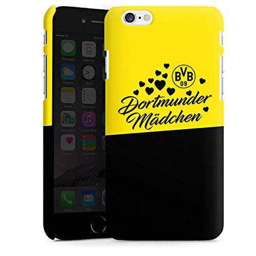 Apple iPhone 6 Plus Hülle Case Handyhülle BVB Borussia Dortmund Dortmunder Mädel Premium Case matt