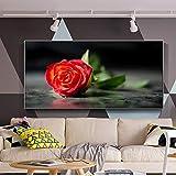 ADGUH Leinwanddrucke Wandposter Und Drucke Moderne Blumen Leinwandbilder Cuadros Bilder Für Wohnzimmer Wanddekor