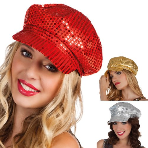 Boland 01204Sequin Hat for Adults