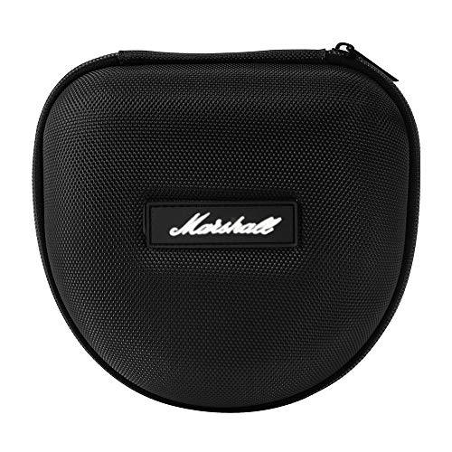 Hartschalen Kopfhörer Tasche Beutel Headset Schützende Eva-Kasten Reisetasche für Marshall Kopfhörer Major I/Major II Bluetooth On-Ear Headset (Schwarz)