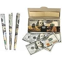 Preisvergleich für Aolvo Fake Money 100Dollar Rechnungen, Fake Geld, Das Look, Real, Kinder Fake Geld Play Set Ideal Set Zum Spielen mit Lernen über Geld und Ein Witz Neuheit