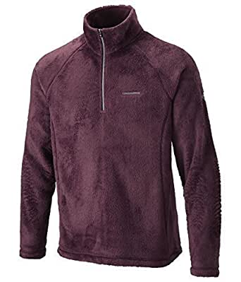 Craghoppers Mens Half-Zip Fleece Danya - BURGUNDY - S