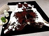 Safari Designer Teppich Stierfell in 3 Größen