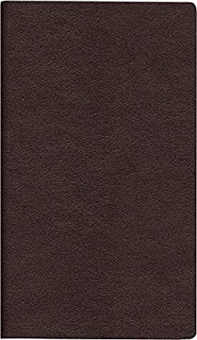 rido/Idé 701221829/Plan Calendar TM Contact 17/2Pages = 1Pocket Diary Weekly Horizontal, 153x 87mm, Leather-Look Cover wine-red, Calendar 2018