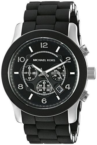 michael-kors-mk8107-unisex-watch-with-black-pu-wrap-bracelet-and-black-dial