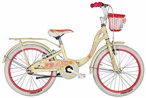 Preisvergleich Produktbild 20 Zoll Mädchen City Fahrrad Coppi Taylor,  Farbe:creme