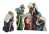 Krippenfiguren Weihnachts Krippe Deko Figur Skulptur Heilige Familie Drei Könige