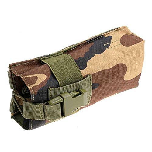 ruifu Outdoor Multifunktions Wasserkocher Tasche MOLLE Wasser Flasche Tasche 600D Tactical Hydration Jungle Camouflage