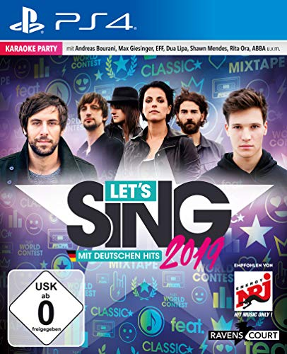 Let's Sing 2019 mit deutschen Hits (PS4) (Nintendo Just Wii Dance 2)