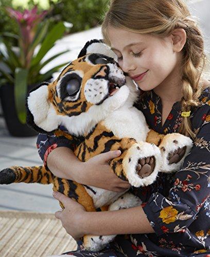 Hasbro FurReal Friends B9071100 Tyler, der Königstiger, elektronisches Haustier - 6