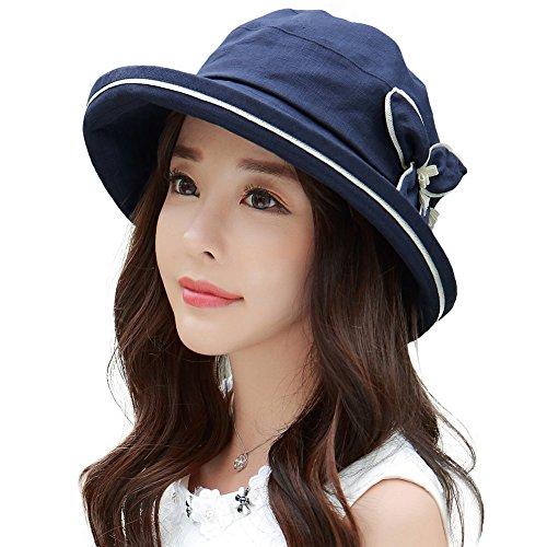 siggi-cappello-da-sole-donna-89313-schwarzblau-taglia-unica