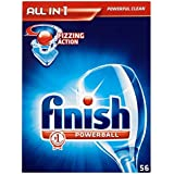 Terminer All in 1 Powerball Lave-vaisselle comprimés (56) - Paquet de 6
