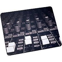 Alfombrilla de ratón–Mesa de mezclas (estudio de grabación) instrumento musical alfombrilla de ratón MI116por mi taza de t