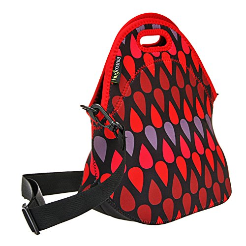 stylish-neoprene-lunch-tote-bag-with-shoulder-strap-travel-camping-storage-handbag-for-office-worker