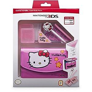 """Nintendo 3DS – Zubehör-Set """"Essential Hello Kitty"""" Pink (3DS/DSi)"""