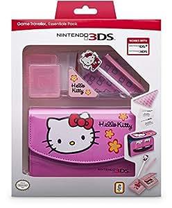 """Nintendo 3DS - Zubehör-Set """"Essential Hello Kitty"""" Pink (3DS/DSi)"""