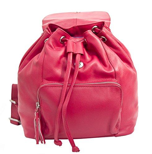 Prime Hide, Borsa a zainetto donna, rojo (Rosso) - 914-Red rojo