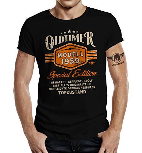 Geschenk T-Shirt zum 60. Geburtstag: Oldtimer Baujahr 1959 L
