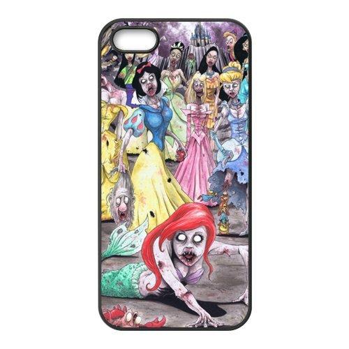 Coque pour iPhone 5S, Zombie Princess Designs Back Case Cover For Apple iPhone 55S, Apple iPhone 55shülle Étui Coque Case Cover