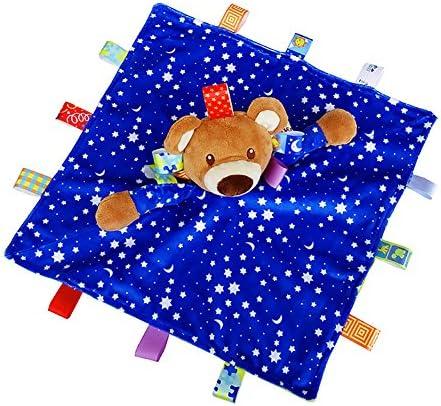 APig 34 x 34 cm nouveau-né Taggies Taggies Taggies couverture douillette avec animaux en peluche peluche- 5 couleurs disponibles   Une Forte Résistance à Chaleur Et Résistant  26b37e