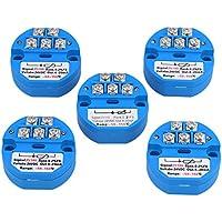 cnbtr azul 24VDC PT100sensor de temperatura del transmisor -50–150C de salida 4–20mA salida Juego de 5