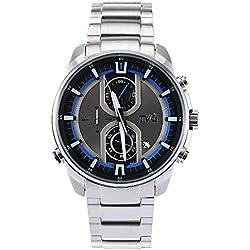 Leopard Shop TVG KM - A501 Male Quartz Watch Date Display Luminous Pointer Chronograph 50m Water Resistance Wristwatch White