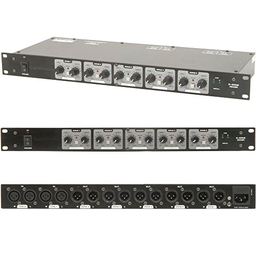 XLR Lautsprecher Matrix Zone Mixer für amplifiers-switch/splitter-distribution Box DJ.