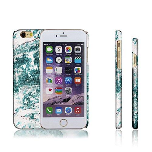 Levanpro Hard Coque Imprimer Cristal Housse Etui Dessin de Marbre Brillant Motif Elégant Slim fit Case de Protection Arrière Coque Dur pour iphone 6s plus / iphone 6 plus G