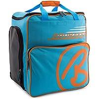 Brubaker \'Super Champion 2.0\' Bolso para Deporte - Mochila Porta Botas De Esquí - Azul/Naranja