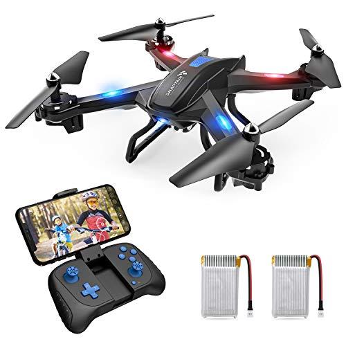 SNAPTAIN-S5C-Drone-avec-Camra-HD-720P-WiFi-FPV-Helicoptre-Tlcommand-avec-Mode-sans-Tte-Maintien-daltitudeVol-de-Trajectoire-360Flips-pour-Les-Dbutants-et-Les-Enfants