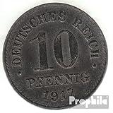 Deutsches Reich Jägernr: 298 1916 A sehr schön Eisen 1916 10 Pfennig Reichsadler im Perlkreis (Münzen für Sammler)