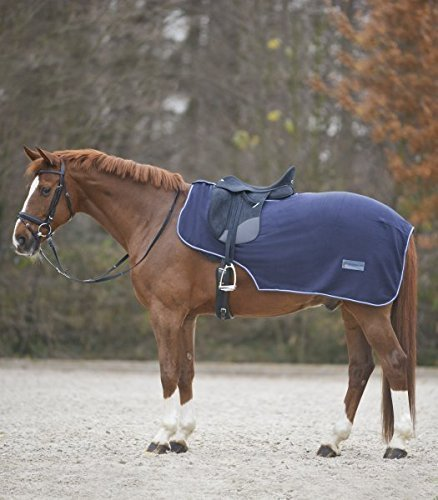 Waldhausen Fleece Nierendecke Economic, Marine, WB, Marine, Warmblut