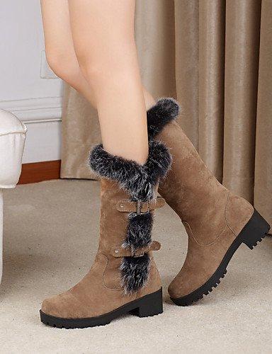 ShangYi Mode Frauen Schuhe Damenschuhe Ferse Mode Schuhe/Stiefel Runder Outdoor/Casual Schwarz/Braun/Grün Schwarz