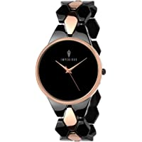 IMPERIOUS - THE ROYAL WAY Analogue Women's Watch (Black Dial)