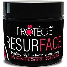 Protege Beauty ResurFACE Crema Idratante di notte antietà per uomo/donna + pelle più Dolce 30ml