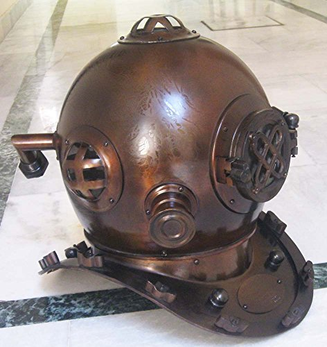 ses U. S. Navy Diving Helmet Boston MA With Mark V Decorative Marine Deep Sea Divers Diving Helmet by Shiv Shakti Enterprises (Deep Sea Diver Kostüme)