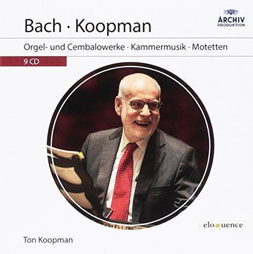 Ton Koopman: Orgel- und Cembalowerke, Kammermusik, Motetten