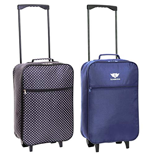 e4d0351db Slimbridge Barcelona Ultra Light 0.95 kg Travel Carry On Cabin Hand Luggage  Suitcase with 2 Wheels