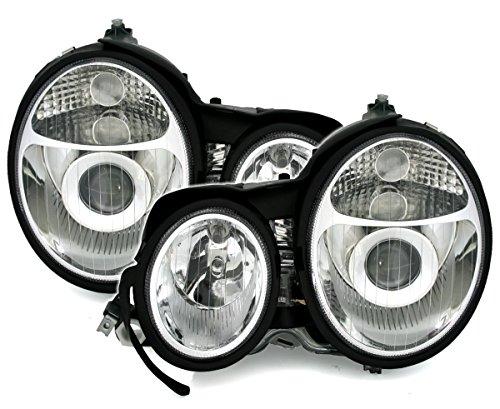 Eagle Eyes Halogen Scheinwerfer Set in Klarglas Chrom, Facelift-Optik