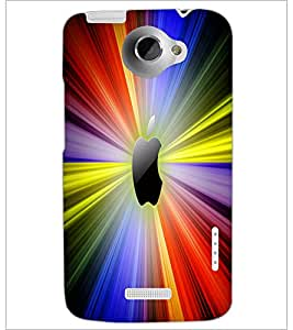 HTC ONE X LOGO Designer Back Cover Case By PRINTSWAG