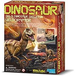 4M - Dig A Velociraptor Skeleton Mundo Animal (00-13234)
