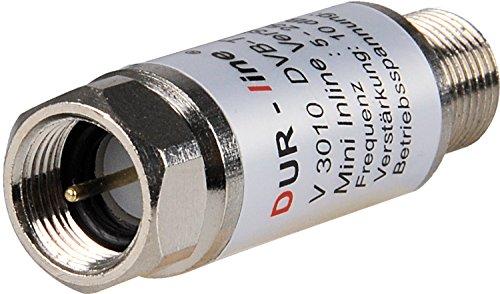 DUR-line V3010Mini Inline amplificador, ganancia de 10dB para satélite y...