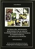 Distribución, abundancia, requerimientos de hábitat y conservación de aves esteparias de interés especial en Castilla La Mancha (Monografías del Museo de Ciencias Naturales)