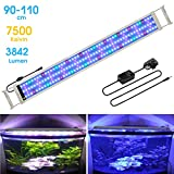 """MAINLICHT Aquarium Light with RGB and Blue LED for 37""""-45"""" Fish Tank Full"""