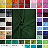 generisch Baumwolle - Uni/einfarbig - Meterware-Öko-Tex -