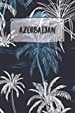 Azerbaijan: Ruled Travel Diary Notebook or Journey  Journal - Lined Trip Pocketbook for Men and Women with Lines