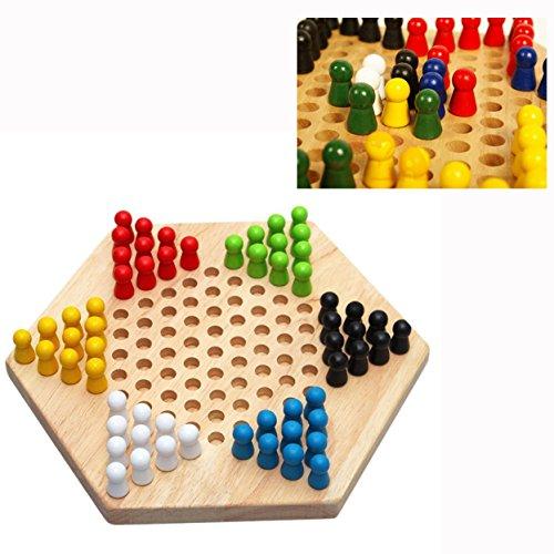 Cisixin Handgefertigte hölzerne chinesische,Brettspiel (Brettspiele Aktion)
