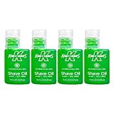 King of Shaves Supercooling Mens Shaving Oil 15ml QUAD-PACK
